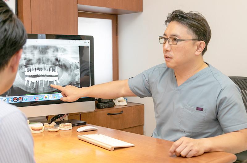 患者さんひとりひとりに合わせた長期に使用できるインプラント